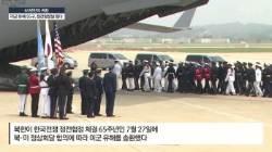 김정은, 코너 몰린 트럼프에 유해 선물 … 또 종전선언 압박