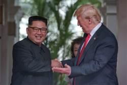 """정전기념일 선포한 <!HS>트럼프<!HE> """"약속 지킨 <!HS>김정은<!HE>에 감사"""""""