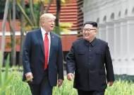 """北 노동신문 """"북미관계 장애는 대북제재""""…南에 독자행보 요구"""