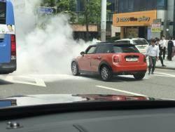BMW '화재 스캔들' … 디젤차 아닌 가솔린 미니도 불탔다