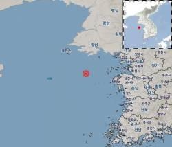 """충남 태안 해역서 연이은 규모 2.1 <!HS>지진<!HE>…기상청 """"피해 없을 것"""""""