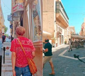 BTS's RM Sharing the <!HS>Travel<!HE> Photos with the Fans ... Captivated by Exotic Landscapes