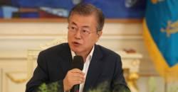 문 대통령 지지율 취임후 최저치…<!HS>민주당<!HE>은 40%대 붕괴