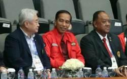 '개회식 스타' 인도네시아 대통령, AG 경기 첫 방문은 태권도