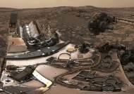 [서소문사진관]화성 먼지폭풍 뚫고 '탐사선 로버'가 보낸 사진은