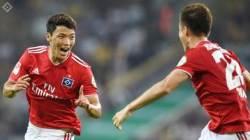 """'독일 함부르크 데뷔골' 황희찬, """"한국에서 연습한대로"""""""
