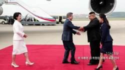 [서소문사진관]사진으로 보는 시간대별 3차 남북정상회담