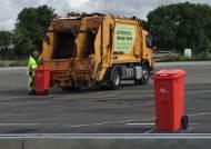 스웨덴 골목 쓰레기통, 무인 청소차가 치운다