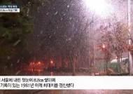 항공편 지연 잇따라…서울 8.8㎝ '대설주의보' 해제