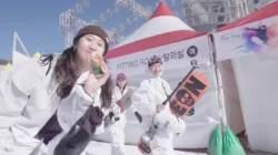 [서소문사진관] 스키장은 하얀색 뿐이라고? 이곳에 가면 레드·핑크·블루가 다 있다!