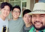 [안혜리 논설위원이 간다] 인구 1600명 섬나라 날아간 한국 대학생 셋의 무모한 도전