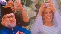 [서소문사진관]미스 모스크바와 비밀 결혼 때문? 말레이시아 국왕 전격 퇴위