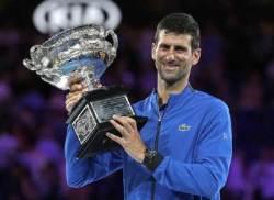 조코비치, 호주오픈에서만 7번 우승 '최다 기록'