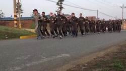 [박용한 배틀그라운드] 육군훈련소 24시간 밀착 취재…배우 이민호 모습도 보여