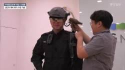 """[박용한 배틀그라운드] """"산길 뛰어도 멀쩡"""" 한국군 아이언맨 수트 입어보니"""