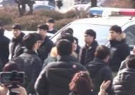 """김태우, 2차 피고발인 조사…""""지금부턴 국민들께 보고"""""""