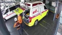 구급대원이 취객 구하다 죽어도 '위험직무순직 아니다'는 정부