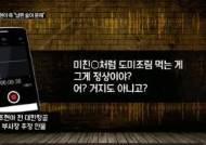 """""""거지XX같이···염치 좀 있어라"""" 조현아 남편 녹취 공개"""