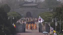[현장에서] 벨기에 국왕, 참전용사 기린 날…천안함 추모식엔 여당 '0'