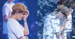 Why Did V Cry Backstage?!