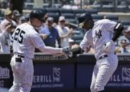 양키스, 29경기 연속 팀 홈런…신기록 행진 계속