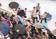 홍콩 각목부대, 시위대에 '백색테러'