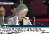 """고노 면전서 직격탄 날린 강경화 """"독단적 조치 엄중 우려"""""""