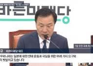 """손학규 """"文정부, 日배상 포기하고 역사청산 요구해야"""""""