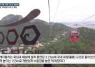 '손혜원 투기의혹' 구도심 한눈에…'국내 최장' 케이블카 시대 연 목포