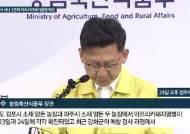 """김현수 장관 """"돼지열병 결정적 원인 못찾아…백신 연구중"""""""