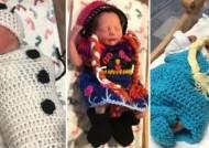 겨울왕국 된 신생아실, 엘사와 안나·올라프로 변신한 아기들