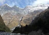 사고 1년 후 찾아간 구르자히말 …지진으로 거대한 빙하 무너져