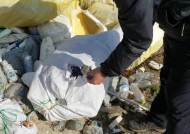 쓰레기 몸살 앓고있는 백령도…페트병 주워보니 죄다 중국산