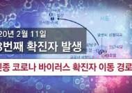 [그래픽 PLAY] 코로나 바이러스 확진자 28명 동선…'중앙일보 코로나맵'