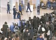 """돌아온 봉준호 첫 인사 """"코로나 극복 중인 국민들께 박수"""""""