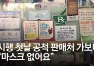 """""""26일""""→""""27일""""→""""3월초""""→""""28일까진…"""" 정부 혼선에 마스크 허탕"""