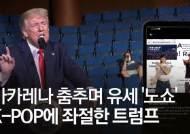 유세 자랑뒤 폭망···트럼프 굴욕 준 '틱톡 할머니' 15초 영상