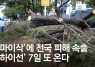 [서소문사진관] 역대급 태풍 '마이삭' 동해안 할퀴고 동해 거쳐 북한으로