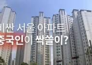 서울 고가 아파트 싹쓸이? 中 부자들의 쇼핑, 규제 해야할까