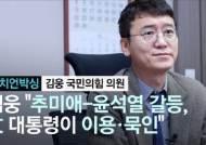 """[정치언박싱]김웅 """"추미애-윤석열 갈등, 文이 가장 이익···그래서 묵인"""""""