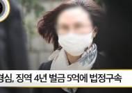 [뉴스픽] 정경심 1심 선고, 징역 4년 벌금 5억에 법정구속