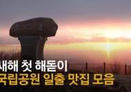 [영상]설악산 대청봉, 다도해 향일암··· 국립공원 랜선 해돋이 절경