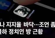 """""""나 지지율 0.5%, 조언 좀"""" 클럽하우스 정치인 방선 이런 일이"""