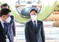 """광주지검 찾은 박범계…윤석열 정계 진출설에 """"답할 사안 아닌 듯"""""""
