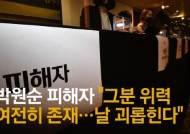 """""""박원순 옳다는 사람들, 무자비하게 날 괴롭혀"""""""
