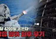 [박용한 배틀그라운드] 분당 4200발, 초음속 미사일 요격···항모 최후무기 국산화