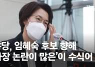 """""""여자 조국이냐"""" vs """"퀴리 부인이다""""…여·야 '임혜숙 공방전'"""