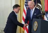 文-바이든 한미 정상회담 시작…비핵화·백신 테이블 올랐다