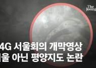 """[단독]P4G 서울회의 개막 영상에 평양지도…""""외교 대참사"""""""