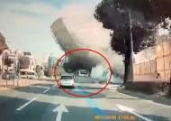 """""""5층 건물 휘청이더니 버스 덮쳤다"""" 광주 붕괴 참사, 9명 사망"""